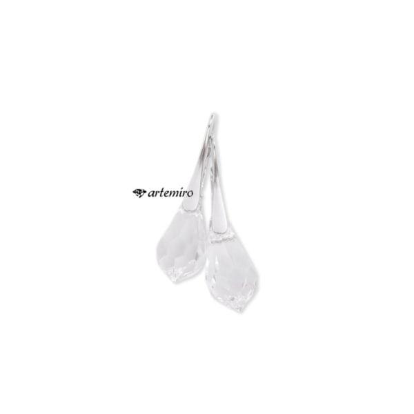 Kolczyki kryształowe srebrne swarovski ślubne na ślub eleganckie